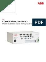 COM600 Series 5.1 Modbus Serial Slave OPC Usm 756913 ENf