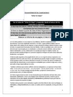 Echar La Culpa - Conclusiòn