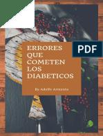 Errores Que Cometen Los Diabeticos