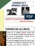Lírica 1 Medio