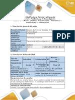 Guía de Actividades y Rúbrica de Evaluación – Momento 2 – Comprender La Información