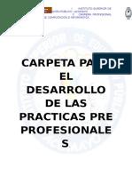 Carpeta de Practica Pre Profesionales 2017-Final