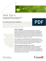 Tank Environmental Protection - Environment Canada