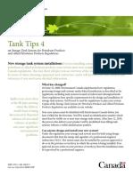 Tank Environmental Protection - Environment Canada