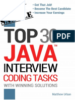 Java Interview Coding Tasks-sample