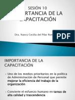 Sesion 10 Conceptos Básicos de Capacitación Definición, Contenido, Objetivos, Herramientas Básicas