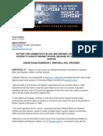 CT Parents Union Media Alert Robinson v Wentzell