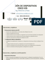 Operacion de Dispositivos Cisco IOS