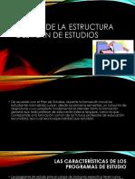 Diseño de La Estructura Del Plan de Estudios