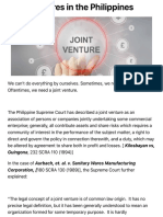 Joint Ventures in the Philippines | Nicolas & De Vega Law Offices