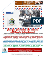 Boletín 11 SUTEP Hco-Sanchez Carrión