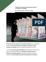 Conoce Todos Los Detalles de La Reconversión Monetaria Que Entrará en Vigencia El Próximo 20 de Agosto en Venezuela