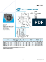 BFB75x75x25mm