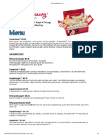 Superdawg Menu w Prices Drive-In