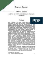 Bauman, Zygmunt - Amor liquido (2003) [Español].pdf