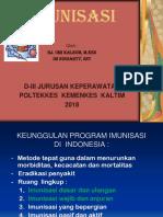 MATERI  IMUNISASI 2018