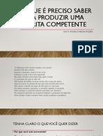 O que é preciso saber para produzir uma escrita competente.pdf