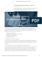 10 Daily Habits of Successful Workforce Planners - Part 1_2
