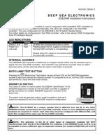 DSE2548 Installation Instructions
