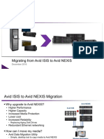 ISIS-Avid NEXIS Migration Dec2016 test