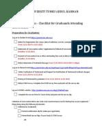 UTAR Convocation Checklist for Graduands Attending Convocation (March 2019)-1
