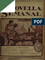 A Novella Semanal, Anno 1, n. 05, 28 Mai. 1921