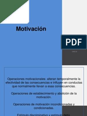 Presentación 4 Motivación Pptx