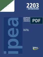 Aglomerações urbanas no Brasil e na América do Sul. Trajetórias e novas configurações..2016.pdf