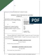 Sample Demurrer to Verified Complaint