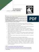 Auditoria Ingresos y Cuentas Por Cobrar