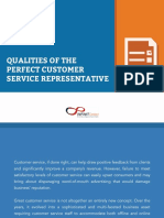 Qualities of the Perfect Customer Service Representative