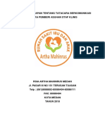 Pedoman Mke 5 Penetapan Tentang Tata Cara Berkomunikasi Antara Pemberi Asuhan Staf Klinis