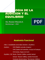 3 Fisiologc3ada de La Audicic3b3n y El Equilibrio Dra Villacorta