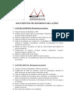 documentosnecessriosparaaes-120905143621-phpapp02