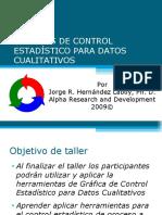 Seminario Gráfica de Control estadístico para datos cualitativos