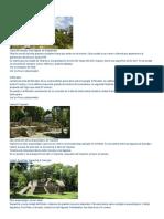 Arqueología y Ruinas Maya