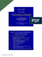 1.1 Process Equipment - An Overview