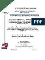 El fortalecimiento de la refinación del petróleo en México, como una alternativa para incrementar el valor agregado al petróleo crudo..pdf