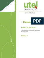 Guía Semana 2 (3) Tecnologia y Sistemas de La Informacion