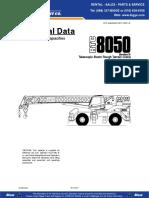 050 T Link Belt RTC8050t