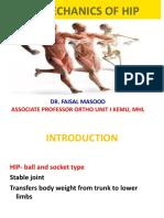 Hip Biomechanics Faisal Sb