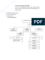 Struktur organisasi dan tugas pokok apoteker di rumah sakit