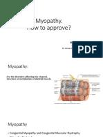 Myopathy Ppt