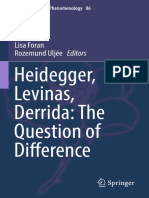 (Contributions To Phenomenology 86) Lisa Foran, Rozemund Uljée (eds.) - Heidegger, Levinas, Derrida_ The Question of Difference-Springer International Publishing (2016).pdf