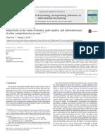 Lee and Park 2013_subjectivity in Fair Value Estimates
