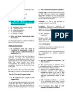 Labor Relations Cheat Sheet