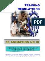 TR 3D ANIMATION NC III