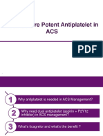 Antiplatelet in ACS Brilinta