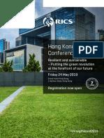 RICS Hong Kong Annual Conference 2019