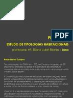 [Apresentação] - Estudo de Tipologias Habitacionais